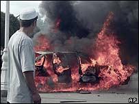 Andijan protests. File photo