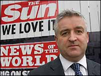 The Sun's managing editor, Graham Dudman