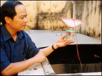Vu Sinh Nam, one of the scientists behind the scheme