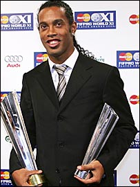 soccer-mania: Ronaldinho the Soccer Player