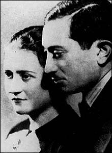 Simon Wiesenthal and his wife Cyla, pictured in 1936 (Pic: Simon Wiesenthal Center)