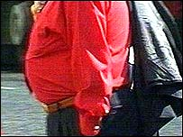 Image of an overweight man