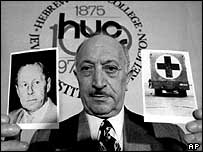 Simon Wiesenthal, 1973 archive photo