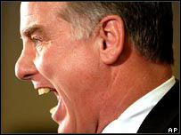 Former US presidential candidate Howard Dean