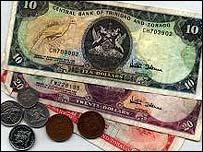 Trinidad bank notes