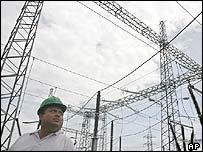 Energy company Fenosa plant in Nicaragua