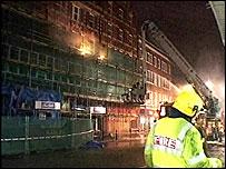 Oxford Road fire
