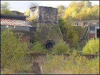 The former Brymbo steelworks