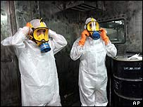 Iranian nuclear technicians