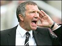 Newcastle boss Graeme Souness