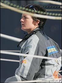 Ellen MacArthur, reconocida como Dama del Imperio Brit�nico.