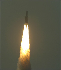 Launch of the Ariane 5-ECA (Esa/CNES/ARIANESPACE-S. CORVAJA)