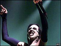 Marilyn Manson in concert