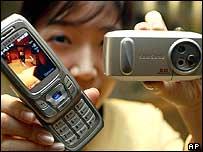 Image of camera phones