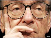 Federal Reserve chairman Alan Greenspan