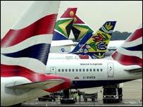 Aeroplanes at Heathrow