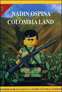 Obra de Ospina a la manera de las portadas de la revista National Geographic.