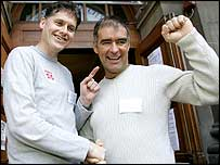 Colin Fox and Tommy Sheridan