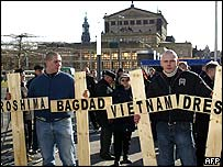 Neo-Nazis in Dresden on 13/02/2005