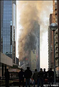 Madrid blaze