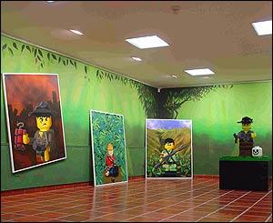 Colombia Land. 2004. Instalaci�n. Centro cultural de la Universidad de Salamanca.