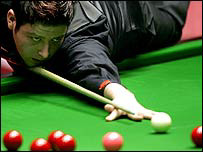 Matthew Stevens in action