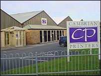 Cambrian Printers in Aberystwyth
