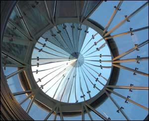 Mirrored cone