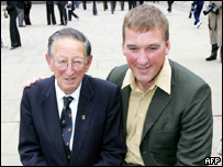 British Olympians Bertie Bushnell, 96, and Sir Matthew Pinsent