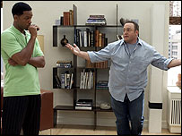 Will Smith with Hitch co-star Kevin James