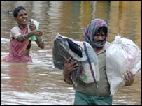 Floods in Andhra Pradesh, India