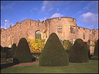 Chirk Castle, picture courtesy of National Trust