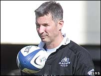 Edinburgh assistant coach Sean Lineen