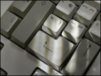 Image of a computer keyboard