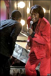 James Brown and Usher
