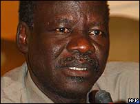 New Foreign Minister Lam Akol