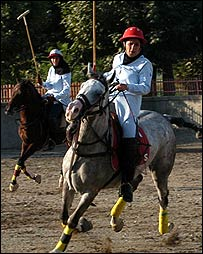 Iranian polo players