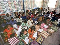 Classroom in Gujarat, India