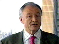 Ken Livingstone at Tuesday's press conference