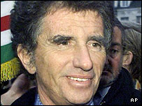 Former French Minister of Culture Jack Lang