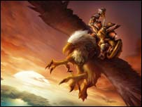 Artwork for World of Warcraft, Blizzard