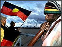 Aboriginal protesters