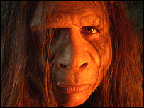 Reconstruction of Homo floresiensis, BBC