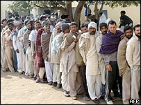 Voters in Bihar