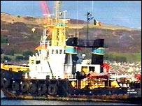 The Belgian registered tug, The Boxer