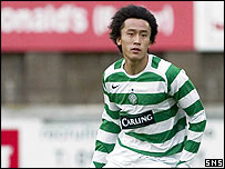 Celtic defender Du Wei