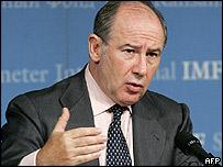 IMF managing director Rodrigo de Rato