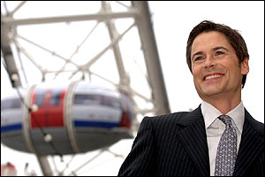 Rob Lowe at the London Eye