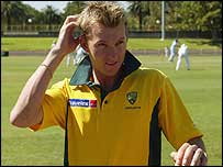 Brett Lee in Australia's