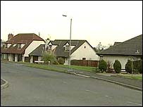 Housing estate in Carrickfergus